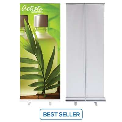 31.5 x 80 Economy Retractable Banner Stands